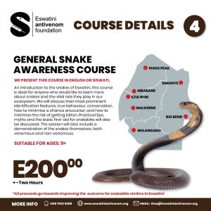Course 4 General Snake Awareness Course