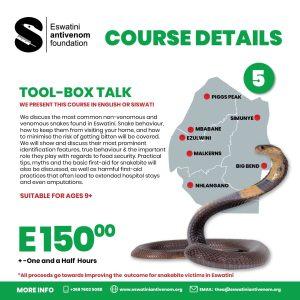 Course 5 Tool Box Talk